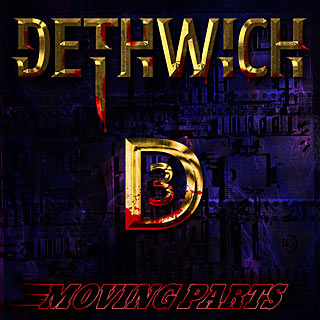 Dethwitch 3 - Abstract Metal Band Album Artwork Design