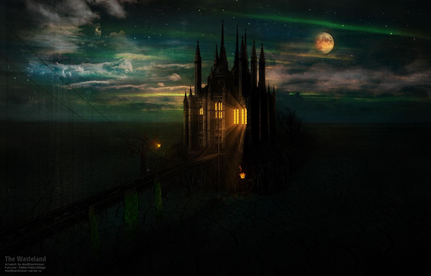 Dark fantasy Artwork gothic Dark Fantasy Castle