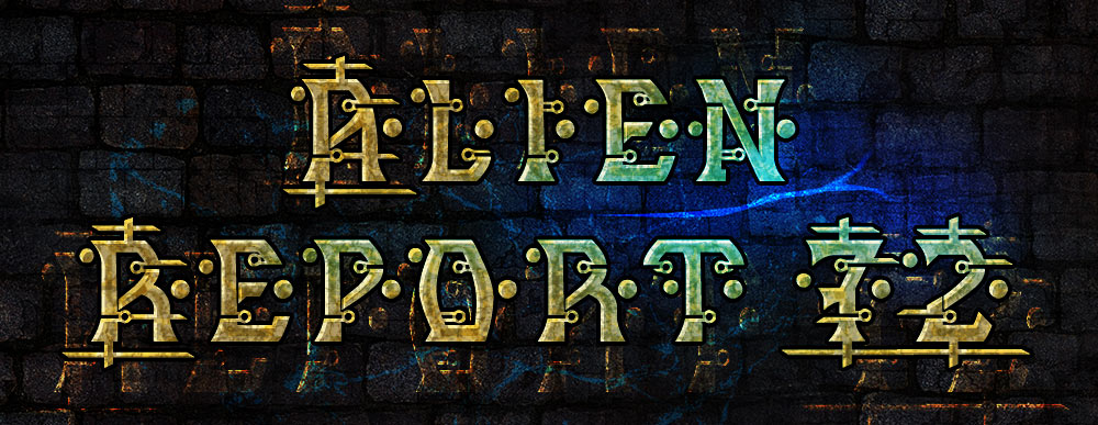 MB Alien Report 72 Futuristic Hi-Tech Alien Font