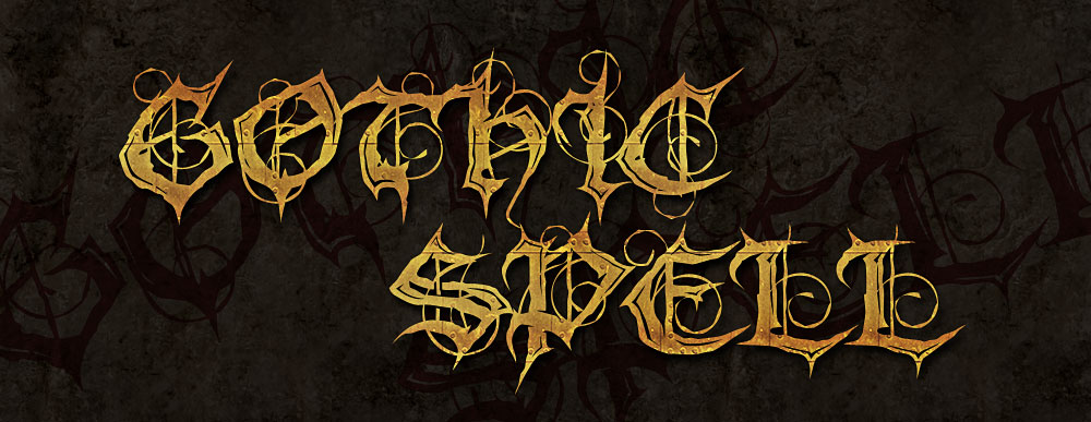 ModBlackmoon | Original Demonic Gothic Fonts, Black Metal