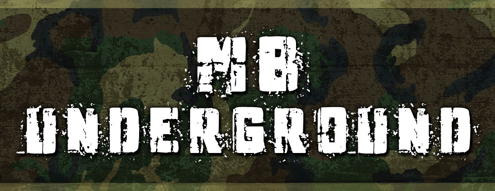 MB Underground Free Commercial Decayed Grunge Metalcore Font
