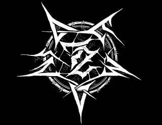 72 Demons Black Death Metal Band Logo Design, Pentagram Sigil