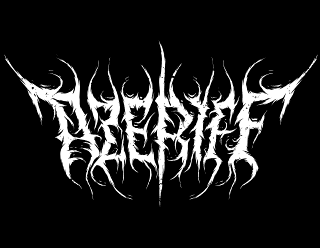 AZERIFF - Raw Black Metal Band Logo Design