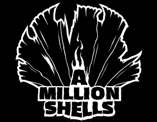 A Million Shells - Metal Band Logo Vector Design