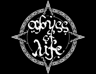 Abyss of Life - Eastern, Oriental Metal Logo Design