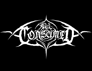 All Consumed - Original Metal Band Logo Drawing, styled as Eye Shape