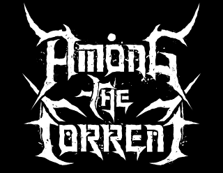 Among the Torrent - Metal Band Logo Vector Design