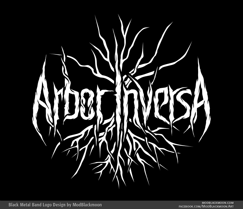Metal band logo design