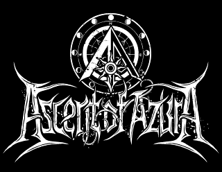 Ascent of Azura - Fantasy Black Metal Band Logo Design Morrowind Inspired