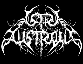 Astra Australis - Black Metal Band Logo Design with Ornaments and Curls