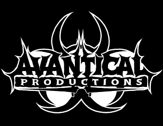 Metal Music Label Logo Design with Biohazard symbol