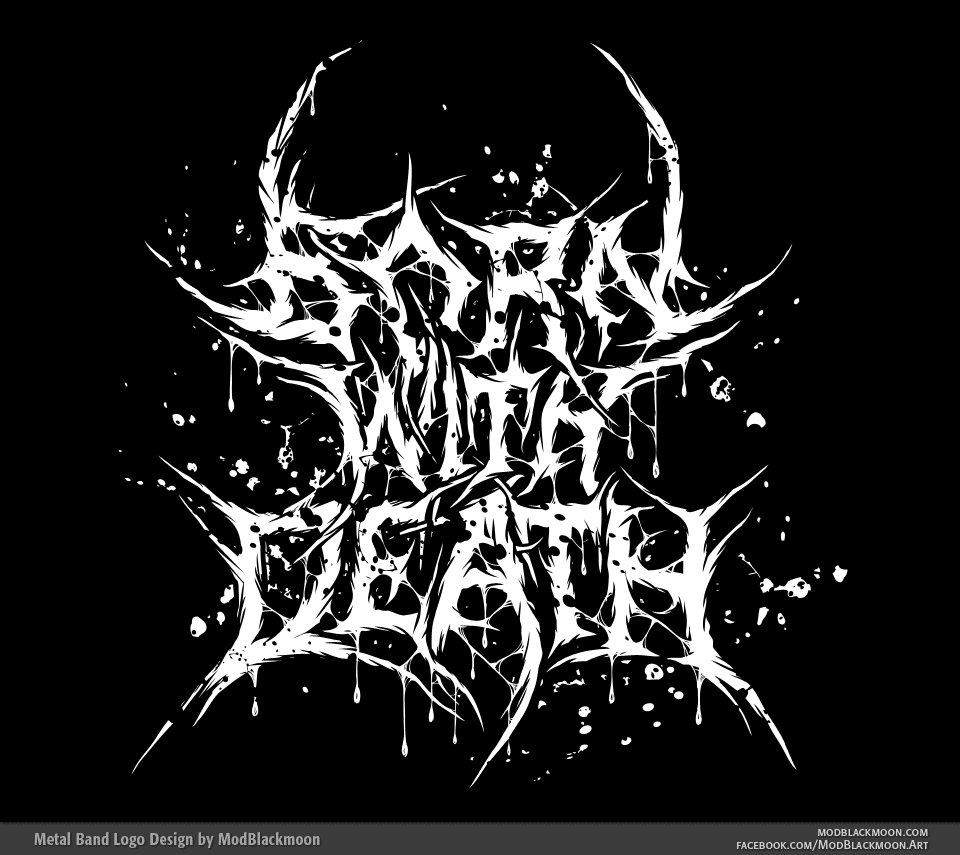 Born With Death - Brutal Death Metal Logo