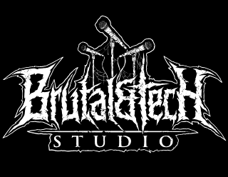 Brutal&Tech - Death Metal Studio Logo Design