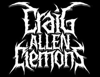 Personal Name design in brutal death metal style