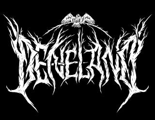 Deneland - Pagan Black Metal Band Logo Design