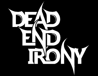 Dead End Irony - Simple Readable Metal Band Logo Design