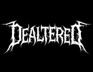Dealtered - Death Metal Band Logo Drawing