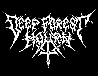Deep Forest Mourn - Metal Band Logo Vector Design