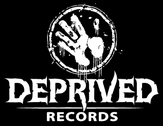 Deprived Records - Metal Recording Label Logo Design
