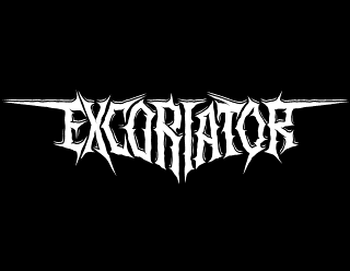 Excoriator - Legible, smooth Death Metal band logo design