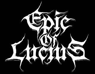 Epic Of Lucius - Custom Doom Metal Band Logo Design by Request