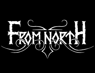 From North - Pagan Viking Metal Band Logo Design with Folk Elements