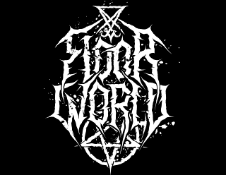 Floor World - Brand Logo Design Black Metal Style