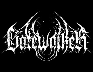 Gatewalker - Black Metal Band Logo Design with Dark Ancient Gates
