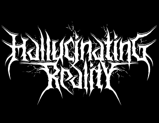 Hallucinating Reality - Death Metal Band Logo Design