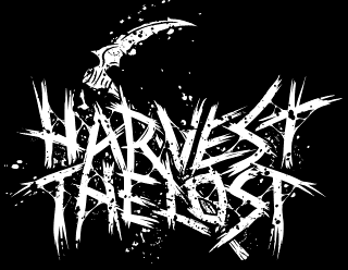 Harvest the Lost - Deathcore Band Logo Design with Scythe