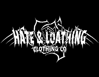 Hate & Loathing - Gothic Clothing Label Logo Design