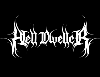 Hell Dweller - Custom Death Metal Band Logo Design