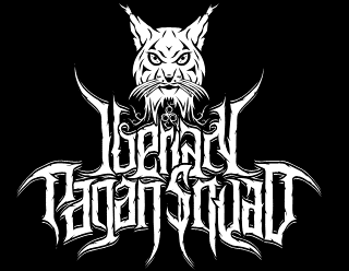 Iberian Pagan Squad - Metal Band Logo Design