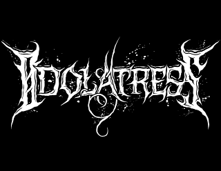 Idolatress - Artistic Metalcore Band Logo Design