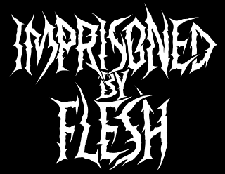 Imprisoned by Flesh - Legible Death Metal Lettering Design