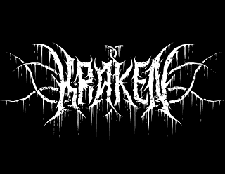 Kraken - True Black Metal Band Logo Design with Tentacles