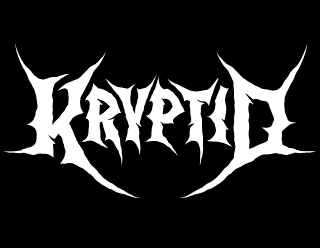 Kryptid - Simple Legible Death Metal Logo Design by ModBlackmoon