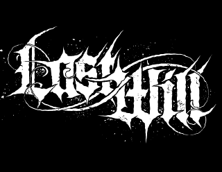 Last Will - Cool Metalcore, Deathcore Logo Design with gothic Lettering