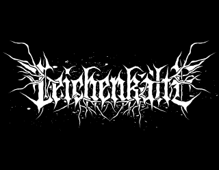 Leichenkalte - Melodic Black Metal Band Logo Design with Roots