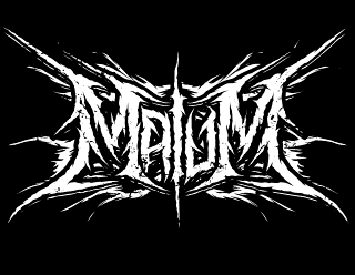 Malum - Black Metal Band Logo Design Art
