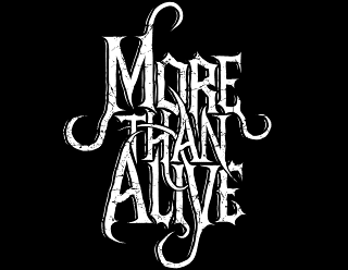 More Than Alive - Readable Old-School Metal Logo Design