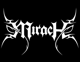 Mirach Metal Band Logo Drawing