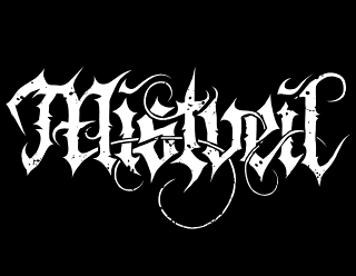 Mistveil - Legible Atmospheric Doom Metal Band Logo Design