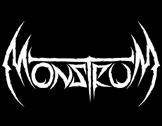 Monstrum - Symmetric Legible Death Metal Band Logo Design
