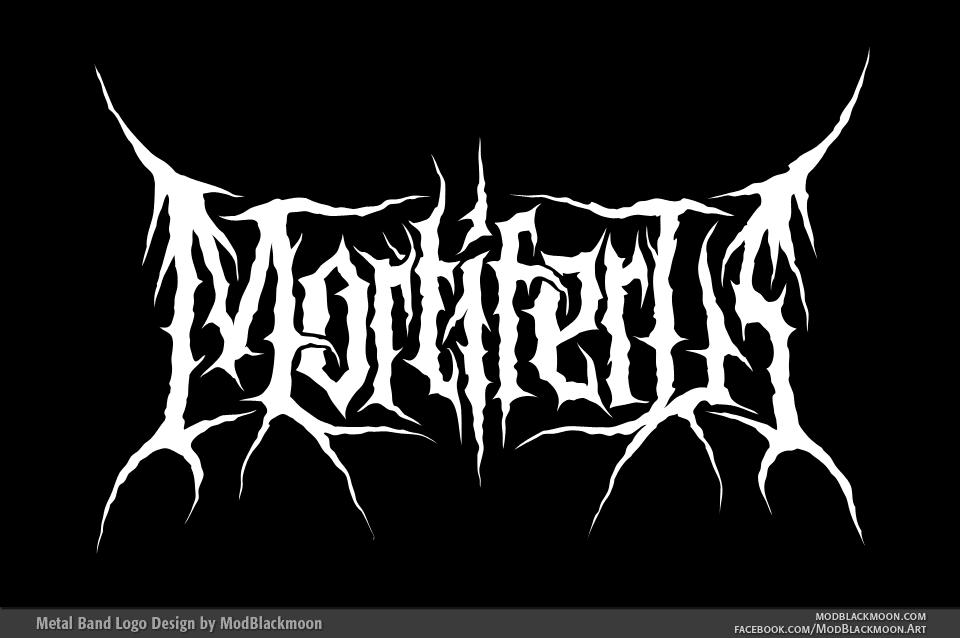 Mortiferus - Death Metal Logo