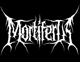 Mortiferus - Death Metal Band Logo Design