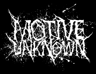 Motive Unknown - Deathcore Band Logo Design