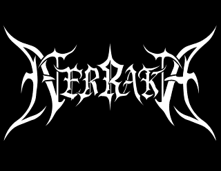 Nerraka - Legible Black Metal Band Logo Design