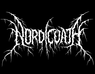Nordic Oath - Black Metal Band Logo Design with Roots and Branches