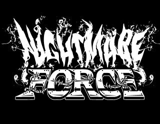 Ghost Smoky Metal Band Logo Design - Nightmare Force